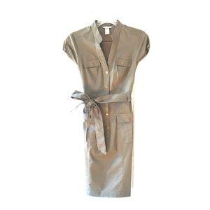 H&M Army Green Cargo Dress